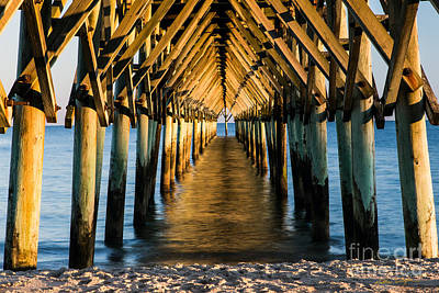 Photograph - Surf City Pier 1 - 2014 by Matthew Turlington
