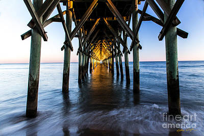Photograph - Surf City Pier 2 - 2014 by Matthew Turlington