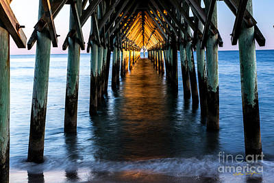 Photograph - Surf City Pier 3 - 2014 by Matthew Turlington