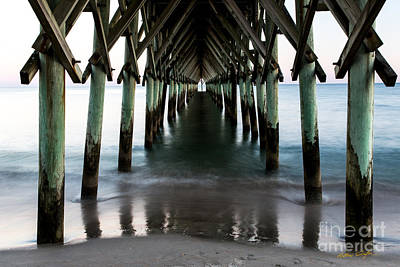 Photograph - Surf City Pier 4 - 2014 by Matthew Turlington