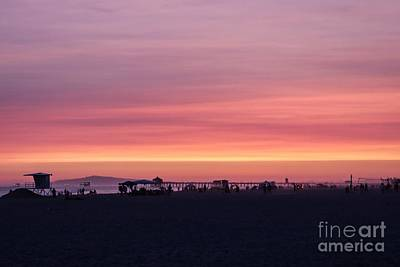 Photograph - Surf City Sunset by Kevin Ashley