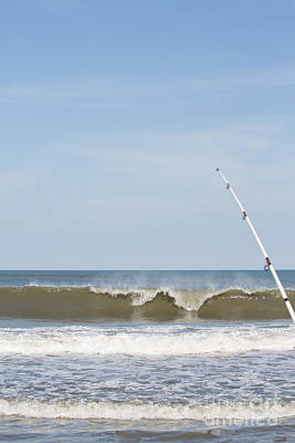 Photograph - Surf Fishing by Kay Pickens