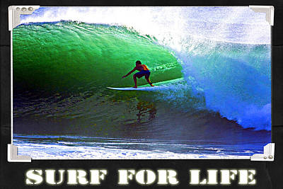 Photograph - Surf For Life by Robert Roland