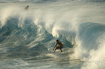 Laird Hamilton Photograph - Surf Is Up Maui by Bob Christopher