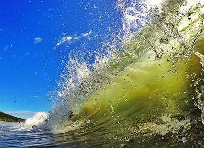 Wave Photograph - Surf by Nicklas Gustafsson