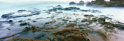 Roca Photograph - Surf On The Coast During Low Tide, Las by Panoramic Images