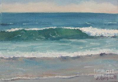 Surf Series 5 Art Print by Jennifer Boswell