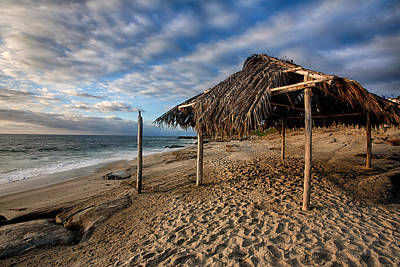 Shack Photograph - Surf Shack II by Peter Tellone