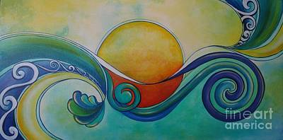 Surf Sun Spirit Art Print