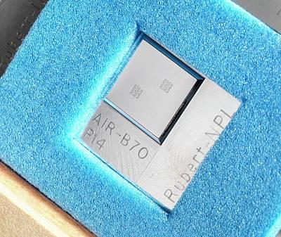Surface Texture Calibration Box Art Print