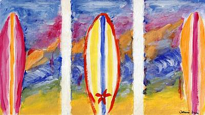 Painting - Surfboards 1 by Jamie Frier