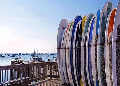 Photograph - Surfboards by Janice Drew
