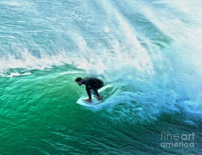 Photograph - Surfer - 02 by Gregory Dyer