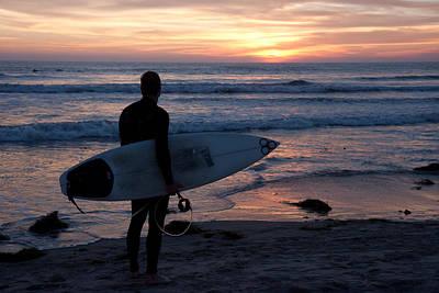 Photograph - Surfer At Sunset by Nathan Rupert