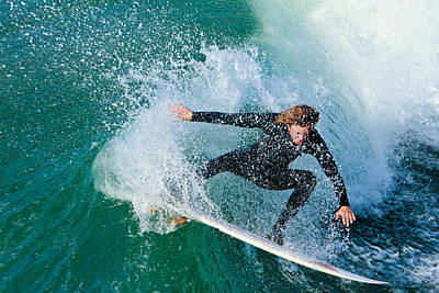 Photograph - Surfer by Ben Graham