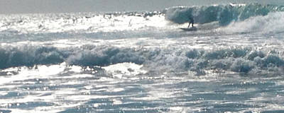 Photograph - Surfer by Bobbi Bennett