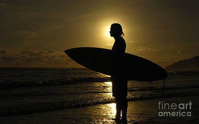 Photograph - Surfer Corcovado Costa Rica by Bob Christopher
