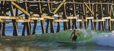 Surfer Dude 1 Art Print by Scott Campbell