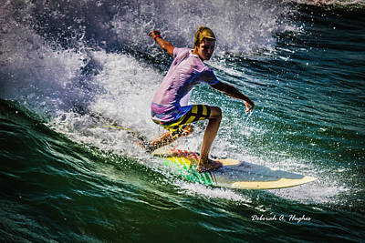 Photograph - Surfer Dude 17 by Deborah Hughes