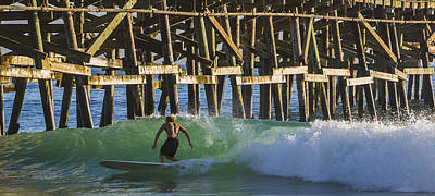 San Clemente Surfing Photograph - Surfer Dude 2 by Scott Campbell