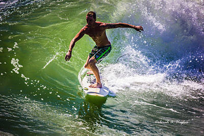 Photograph - Surfer Dude 5 by Deborah Hughes