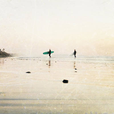 Surf Photograph - Surfer Dudes  by Bree Madden