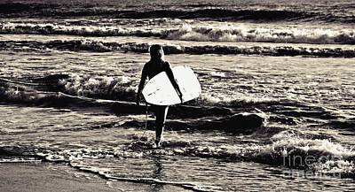 Photograph - Surfer Girl by Scott Allison