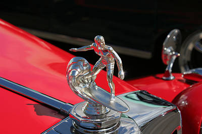 Photograph - Surfer Hood Ornamant by John Orsbun
