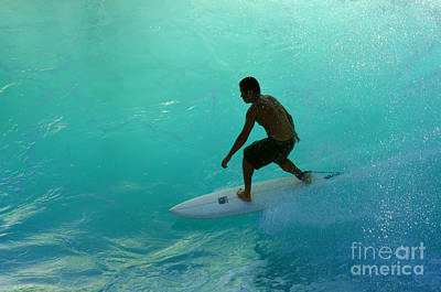 Laird Hamilton Photograph - Surfer In The Zone by Bob Christopher