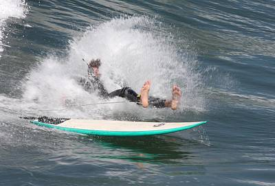 Photograph - Surfer Wipeout by Nathan Rupert