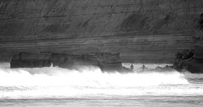 Photograph - Surfers At Bird Rock by Amanda Holmes Tzafrir