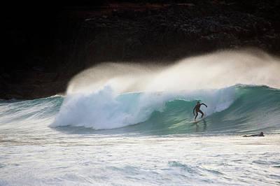 Photograph - Surfers, Cotillo, Fuerteventura, Canary by Latitudestock - Stuart Pearce