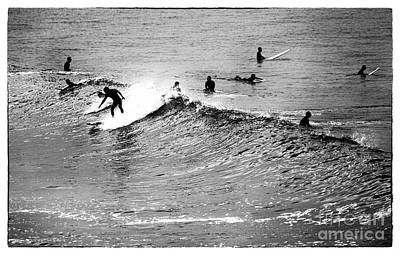 Photograph - Surfers by John Rizzuto
