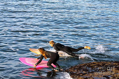 Photograph - Surfers by Pamela Walrath