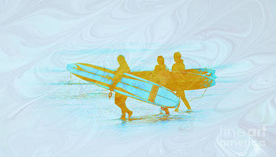 Photograph - Surfin by Steve McKinzie