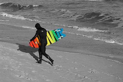 Surfing 431 Art Print by Joyce StJames