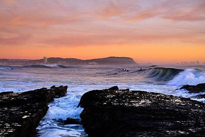 Photograph - Surfing Australia Sunset Art by Robert Roland