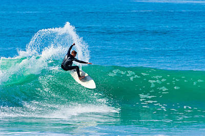 Photograph - Surfing In Carlsbad 3 by Ben Graham