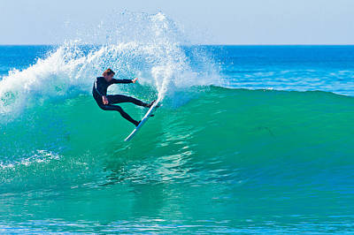 Photograph - Surfing In Carlsbad 4 by Ben Graham