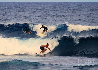 Design Turnpike Books Royalty Free Images - Surfing in Hawaii Royalty-Free Image by Catherine Sherman