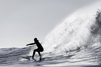 Art Print featuring the photograph Surfing The Avalanche by Paul Topp