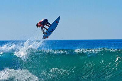 Photograph - Surfing Trick by Ben Graham