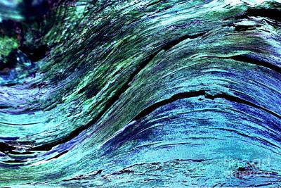 Digital Art - Surfing by Wendy Wilton