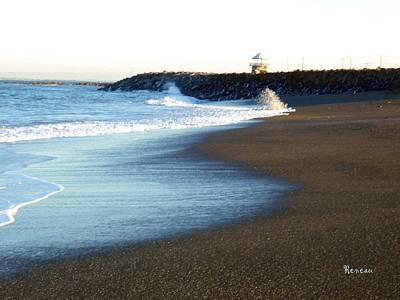 Photograph - Surfs Up 5 At Westport Wa by Sadie Reneau