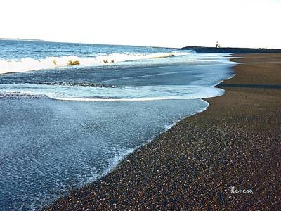 Photograph - Surfs Up 6 At Westport Wa by Sadie Reneau