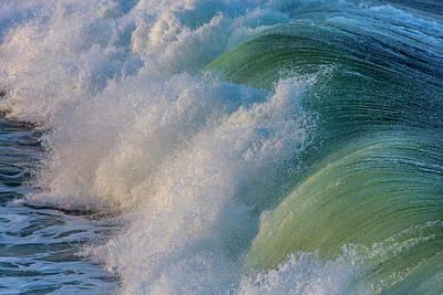 Pismo Beach Photograph - Surfs Up At Pismo Beach, California, Usa by Chuck Haney
