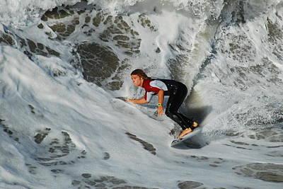 Surfs Up Art Print by James Kirkikis