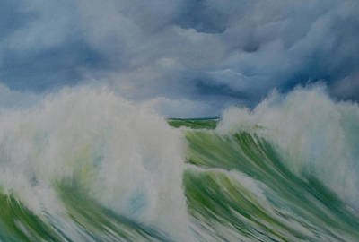 Painting - Surfs Up by Neil Kinsey Fagan