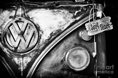 Kombi Photograph - Surfs Up by Tim Gainey