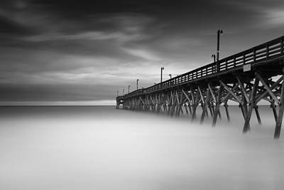 Piers Wall Art - Photograph - Surfside Beach Pier by Ivo Kerssemakers